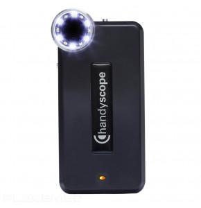 Lunette loupe 2 lumières pour iPhone SE - Trichoscopie numérique