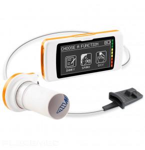 Spiromètre portatif et sur PC avec option oxymétrie - SPIRODOC