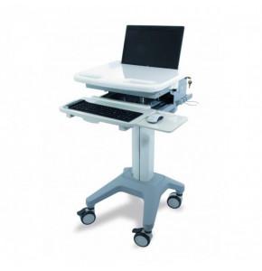 Chariot pour PC portable médical - Série MED-SMART