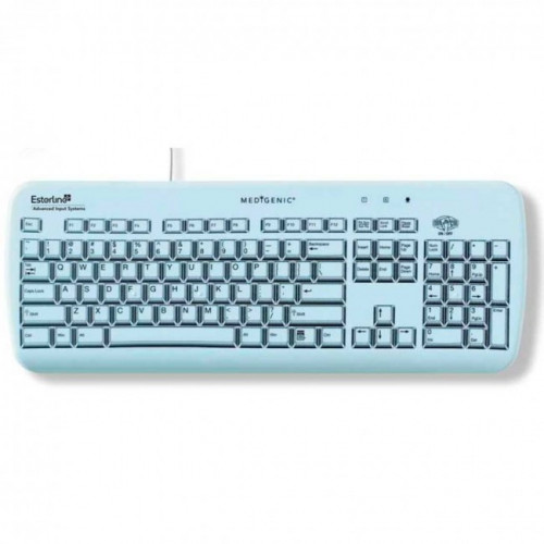 Clavier filaire AZERTY MEDIGENIC - 105 touches IP65