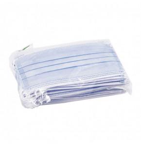 Masque chirurgical Type IIR - Bleu - Boîte de 50
