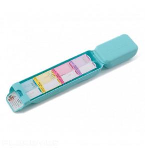 Pilulier distributeur de médicaments - Type Plumier