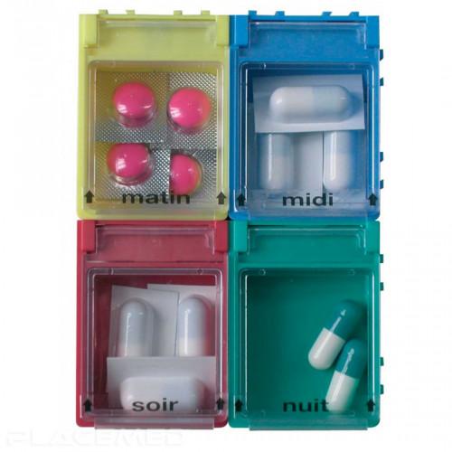 Pillbox in valve boxes