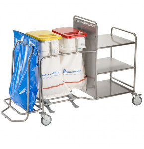 ISEO Trio A combination trolley for 2 or even 3 tasks.