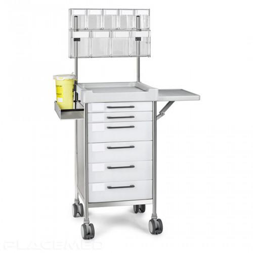 Anesthesia trolley - INSAUSTI -Q096W - 480 x 480
