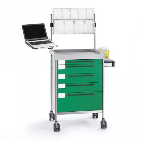Anesthesia trolley series 300 - INSAUSTI 3611-G - 640 x 480