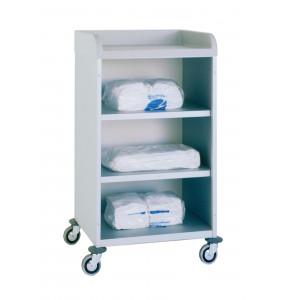 Anodized light alloy truck 2 shelves