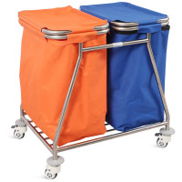SKH040-1 STAINLESS STEEL MEDICAL DRESSING TROLLEY FOR HOSPITAL