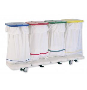Sack-holder 4 bags in line - 3845 CR