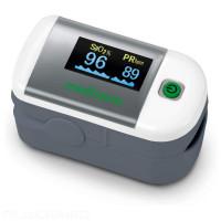 Oxymètre de pouls au doigt avec affichage OLED